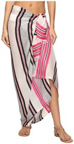Echo Sheer Stripe Pareo Cover-Up