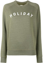Holiday Logo Print Sweatshirt