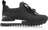 Tory Burch Blossom Black Neoprene Sneaker