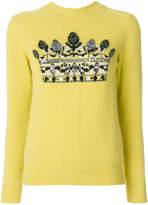 Junya Watanabe sequin embellished jumper