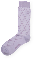 Brooks Brothers Cotton Crew Diamond Socks