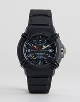 Casio Had-600b-1bvef Neobrite Analogue Watch In Black