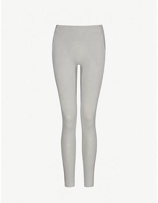 Lunya Restore mid-rise cotton-blend leggings
