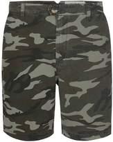Topman HYMN Camo Print Shorts*