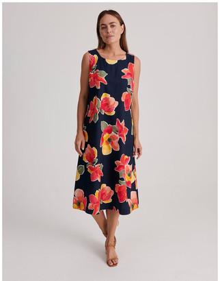 Regatta Sleeveless Linen Blend Midi Dress