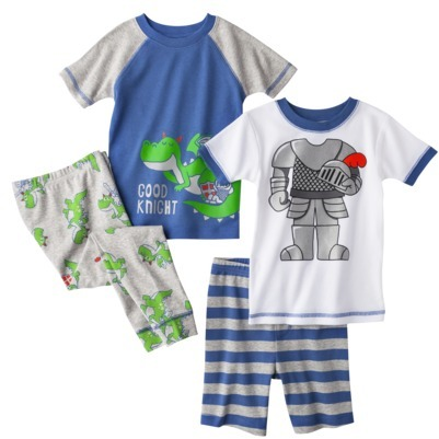 Carter's Just One You® by Infant Toddler Boys' 4-Piece Pajama Set