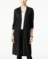 Alfani Open-Front Duster Cardigan, Only at Macy's