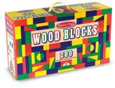 Melissa & Doug Toddler 200-Piece Wood Block Set