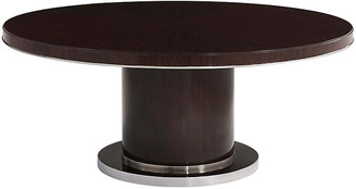 Ralph Lauren Home Modern Metropolis Dining Table - Macassar Ebony