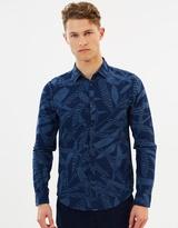 Scotch & Soda LS Linen Print Shirt