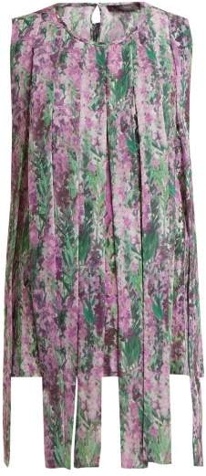 Max Mara Raro Top - Womens - Purple Print