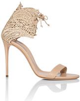 Casadei Macrame Heel Sandal 100mm