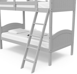Thomasville Kids Adamstown Kids Twin over Twin Standard Bed Bed Frame Color: Pebble Gray
