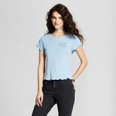 Mossimo Women's Baby Graphic T-Shirt Blue