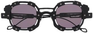 Kuboraum Hardware Round Frame Sunglasses