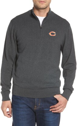 Cutter & Buck Chicago Bears - Lakemont Regular Fit Quarter Zip Sweater