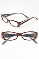 A. J. Morgan A.J. Morgan 'Eden' Reading Glasses (Online Only) Red 3