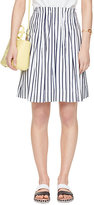 Kate Spade Stripe cotton skirt