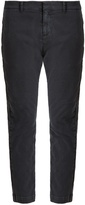 Nili Lotan Tel Aviv stretch cotton trousers