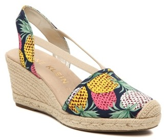 Anne Klein Abril Espadrille Wedge Sandal