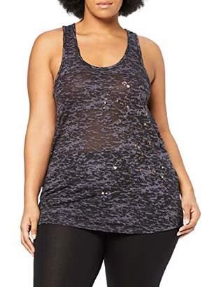 Zizzi Active by Women's ABOXER, S/L, TOP Sports Shirt,Medium