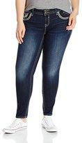 Vigoss Women's Plus Size Skinny Chelsea Jean