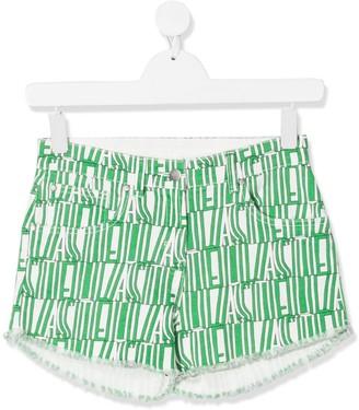 Stella Mccartney Kids Logo Shorts