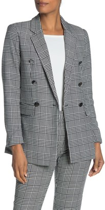 Catherine Malandrino Double Breasted Tweed Jacket