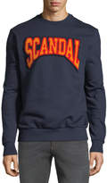 Eleven Paris Scandal Embroidered Pullover Sweatshirt
