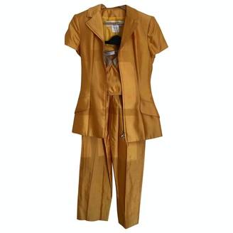 Christian Dior Yellow Silk Jacket for Women Vintage
