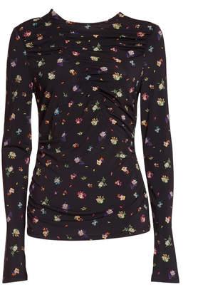 Essentiel Antwerp Essentiel Top With Multicoloured Floral-print