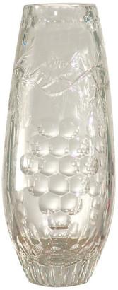 "Dale Tiffany Springdale 12""H Grape Crystal Vase"