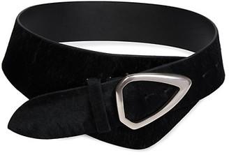 Isabel Marant Linka Leather & Velvet Belt