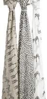 Aden Anais aden + anais 3-Pack Swaddling Cloths