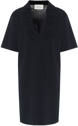Gucci Ruffle-trimmed minidress