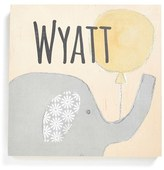 Someday Inc. Personalized Elephant Birchwood Wall Art