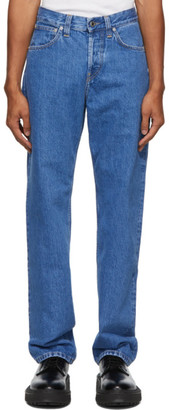 Helmut Lang Blue Masc Lo Easy Jeans
