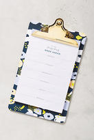 Anthropologie Week Ahead Clipboard