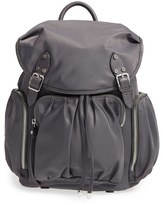 M Z Wallace 'Marlena' Bedford Nylon Backpack - Black