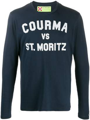 MC2 Saint Barth Courma print long sleeved T-shirt