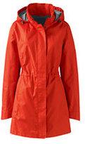 Classic Women's Plus Size Transitional Spring Coat-Zesty Orange