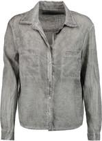 Enza Costa Washed-cotton shirt