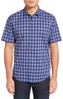 Zachary Prell Medina Slim Fit Plaid Sport Shirt