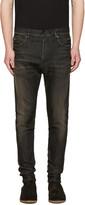 Balmain Black Low-rise Jeans