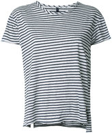 Nobody Denim - Organic Fine Stripe Basic Tee - women - Organic Cotton - S