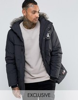 Majestic Raiders Parka Exclusive To Asos