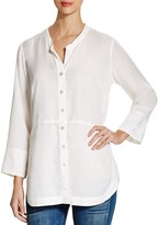 Nic+Zoe Modern Button Front Blouse