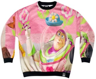 Disney Buzz Lightyear and Woody Sweatshirt for Adults Toy Story