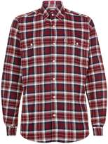Barbour Check Flannel Shirt
