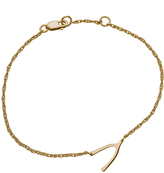 Joie Jennifer Zeuner Lily Wishbone Bracelet